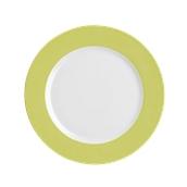 OL022328001 /A Ρηχό Πιάτο Στρογγυλό Πορσελάνης Φ32cm, Σειρά OLIVA SUN, Λαχανί