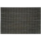 AVARITO08 Σουπλά PVC-PET, 45x30cm, μαύρο μάλλινου, abert Ιταλίας
