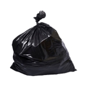 RB-90110/900gr Ρολό 10 τεμ. σακούλες σκουπιδιών, απορριμμάτων 90x110cm, βαρέως τύπου