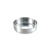UV.508110(201-4/10CM) Σταχτοδοχείο στρογγυλό 10cm Ανοξείδωτο 14/1