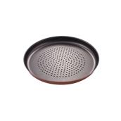 03.90.28 Ταψί Πίτσας τρυπητό, αλουμινίου αντικολλητικό, 28cm, Ιταλικής Κατασκευής