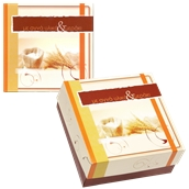 ABA-15 Κουτί Αρτοποιείου-Ζαχαροπλαστείου με Επικάλυψη Αλουμινίου No.15, 25x25x8cm (τιμή ανά κιλό)