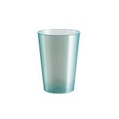 2770-96 Πλαστικό ποτήρι PS μίας χρήσης 23cl πράσινο ΠΕΡΛΕ πολυτελείας