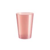 2770-97 Πλαστικό ποτήρι PS μίας χρήσης 23cl ροδακινή ΠΕΡΛΕ πολυτελείας