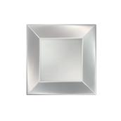 8052-81 Πιάτο γλυκού πλαστικό PP τετράγωνο 18x18cm λευκό ΠΕΡΛΕ, πολυτελείας