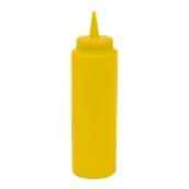 M-03016/YELLOW Πλαστικό Μπουκάλι Σάλτσας 72cl, 24oz, Κίτρινο