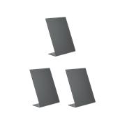 TBA-BL-A6 Σετ 3 τεμ Επιτραπέζιες σημάνσεις A6 σε σχήμα L, 7.32x14.7cm