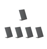 TBA-BL-A7 Σετ 5 τεμ Επιτραπέζιες σημάνσεις A7 σε σχήμα L, 10.4x7.32cm