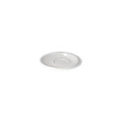 RS005120000 /A Πιατάκι κούπας Πορσελάνης Φ12cm, Σειρά RESORT, λευκό
