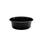 BPP-1000CC Σκεύος PP Μαύρο Σούπας 1000cc, Φ16x5cm, Χωρίς Καπάκι