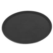 MFE1600 Δίσκος Σερβιρίσματος Fiberglass, Στρογγυλός Αντιολισθητικός Φ40,5cm, Μαύρος