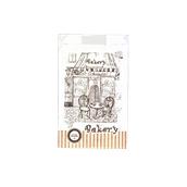 30.01.00-12x22/BK Σακούλα Βεζιτάλ Σχέδιο Bakery 12x22cm
