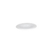 TZ006160000 Πιατάκι Κούπας & Κονσομέ Πορσελάνης Φ16cm, Σειρά THESIS, λευκό