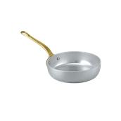 1563014 Τηγανάκι αλουμινίου 14cm, με 1 χρυσό χερούλι, Ιταλικό