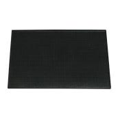 SYR-010141 Σέρβις Ματ 45x30x1cm, μαύρο λάστιχο