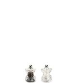 820SET Σετ μύλοι πιπεριού + αλατιού, ακρυλικοί, ύψος 65mm, Bisetti Italy