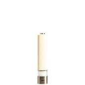 963S Ηλεκτρικός Μύλος Αλατιού, άσπρος, ύψος 200mm, Bisetti Italy