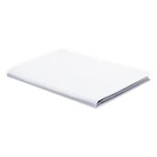 LIN-D50X70 Μαξιλαροθήκη Λευκή, 50x70 cm, 48% βαμβάκι 52% πολυέστερ, 152 κλωστές