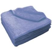 V500-BL-80X150 Πετσέτα πισίνας (VAT Dyed) 80 x 150 cm, 500gr/m², Πενιέ, Μπλε Ραφ