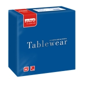 88400600 ΠΑΚΕΤΟ 50 Χαρτοπετσέτες Airlaid Tablewear 40x40 μπλε, FATO Ιταλίας