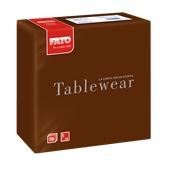 88404900 ΠΑΚΕΤΟ 50 Χαρτοπετσέτες Airlaid Tablewear 40x40 σοκολατί, FATO Ιταλίας