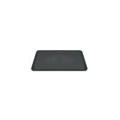 SYR-01037/SYR-010165 Πλάκα κοπής Πλαστική 31x20cm, μαύρη