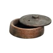 312337 Πυράντοχη Κεραμική πιατέλα Sach βαθιά MAXI φ28cm με καπάκι