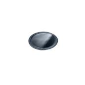 LENERP23A Δίσκος-Βάση Τούρτας Πλαστικοποιημένη πολυτελείας, Φ23cm σε μαύρο χρώμα, Ιταλίας