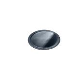 LENERP25A Δίσκος-Βάση Τούρτας Πλαστικοποιημένη πολυτελείας, Φ25cm σε μαύρο χρώμα, Ιταλίας