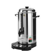 211106 Καφετιέρα Φίλτρου 6 Λίτρων Διπλού Τοιχώματος 1500W, «PERCOLATOR», HENDI