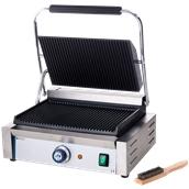 263655 Ηλεκτρική Τοστιέρα Grill «PANINI» 34x23cm, Ραβδωτή Πάνω & Κάτω, 2200W