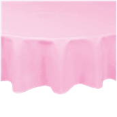 PAROS-Φ140/PK Τραπεζομάντηλο από αδιάβροχο, αλέκιαστο ύφασμα, 150gr/m2, φ140cm, ροζ