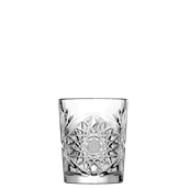 HOBSTAR/DOF Ποτήρι Whiskey/Coctail σκαλιστό 35cl,  Φ8,9x10,7mm, LIBBEY