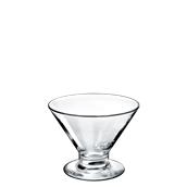 VICENZA/ICE250 Γυάλινο Μπωλ Παγωτού 25cc, φ11.8x8.5cm, BORGONOVO, Iταλίας