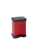 MET931-30LT Κάδος 30L, DECOBIN 39x29x50,5cm,, κόκκινος, Curver