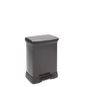 MET929-30LT Κάδος 30L, DECOBIN 39x29x50,5cm, μαύρος, Curver