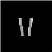 3767-19 Πλαστικό ποτήρι SAN πισίνας 4cl μαύρο