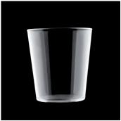 2670-21 Πλαστικό ποτήρι PS πισίνας 42cl διαφανές