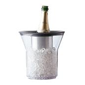 4784-21 Σαμπανιέρα SAN, για 1 μπουκάλι, 21x25cm,  Διάφανη