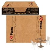 PK3550-667 Σουπλά 35x50cm, σκληρό χαρτί RUSTICO, σχέδιο PIZZA