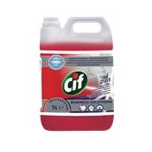 CIF-7517831 /5LT Υγρό απορρυπαντικό 5lt καθαριστικό, αφαλατικό, για χώρους υγιεινής, Cif