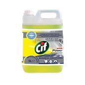 CIF-7517909 /5LT Ισχυρό αφαιρετικό λιπαρών ρύπων 5lt, ασφαλές για χρήση σε αλουμίνιο, Cif