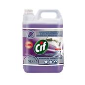 CIF-100862179 /5LT Συμπυκνωμένο καθαριστικό και απολυμαντικό 5lt, χρήση σε χώρους επεξεργασίας τροφίμων, Cif