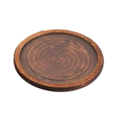 359/30 Δίσκος Σερβιρίσματος μεTζάμι,TemperedΦ30x1,8cm