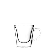DUOS-CUP/29.5CL Γυάλινο Φλυτζάνι καφέ, διπλών τοιχωμάτων 29.5cl, Luigi Bormioli