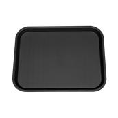 SYR-010120/BK Πλαστικός δίσκος Fast Food, 46x35cm, μαύρος, Ελληνικής κατασκευής