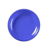 2750-34 Πιάτο πλαστικό στρογγυλό PP 22cm μπλε