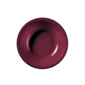 2757-08 Πιάτο πλαστικό σούπας PP 19.5cm μπορντώ