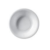 2757-11 Πιάτο πλαστικό σούπας PP 19.5cm άσπρο