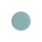 SC1-09/RB Πιατάκι πορσελάνης για φλυτζάνι 90cc, ραφ μπλε, LUKANDA